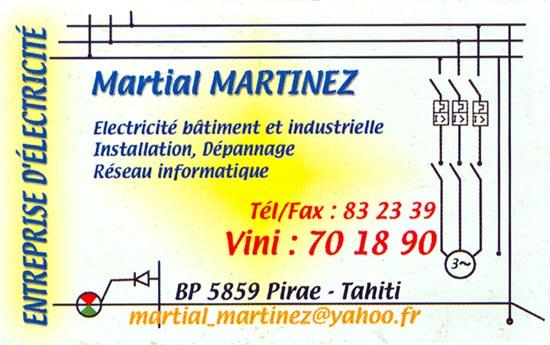 Carte De Visite Electricite